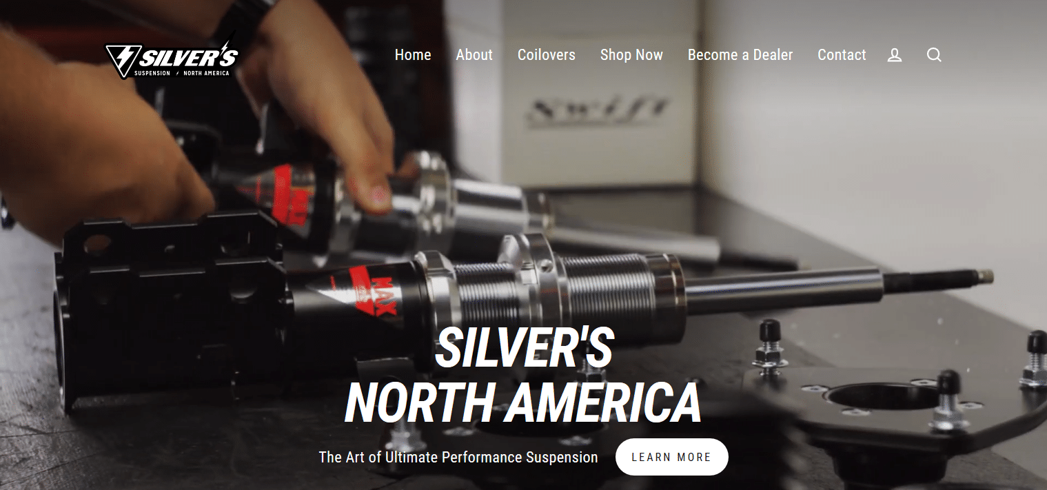 Silver's North America Performance Automotive Suspension Coilover Kits