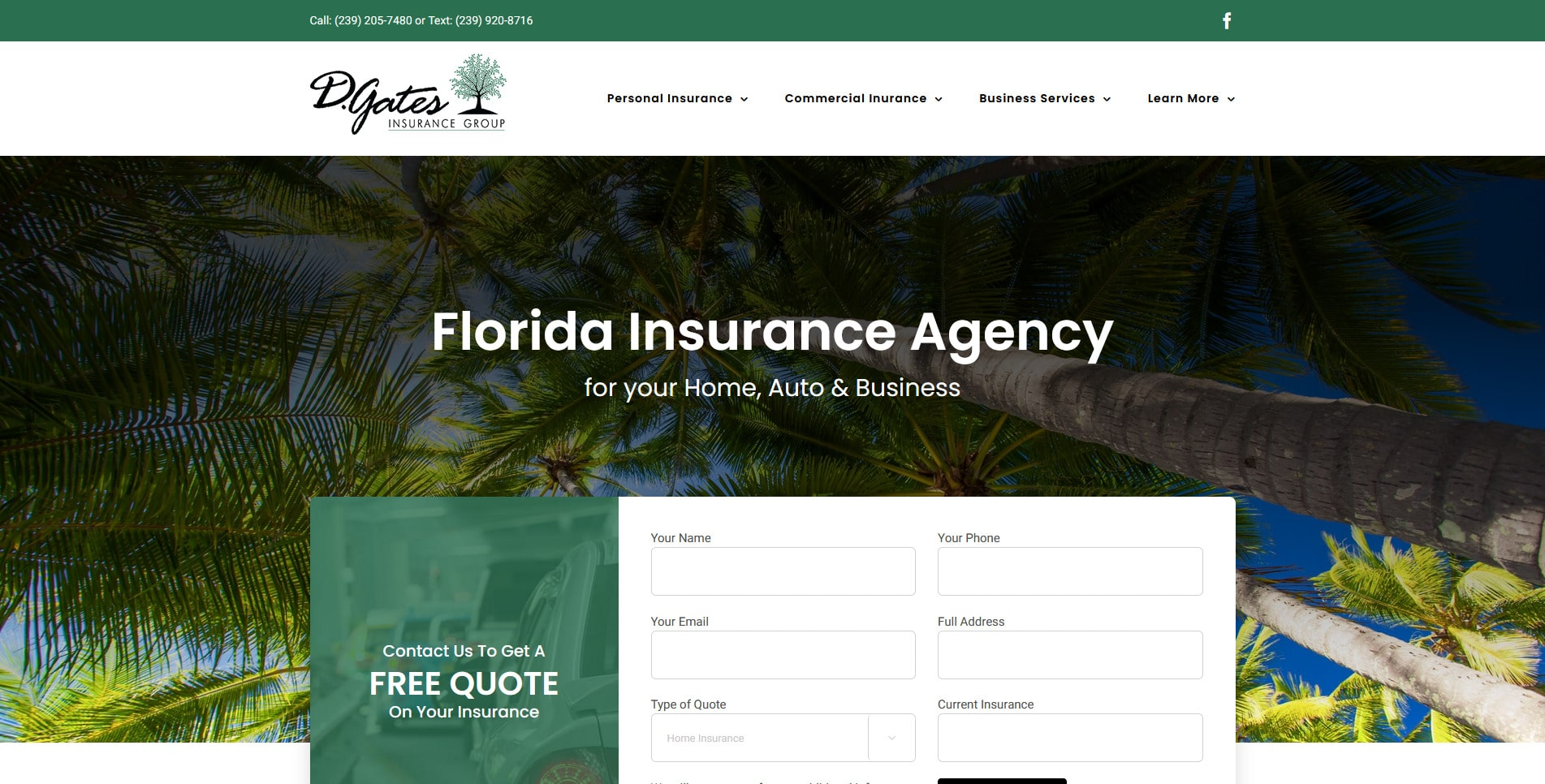 D Gates Insurance Group for Home & Business Cape Coral, FL