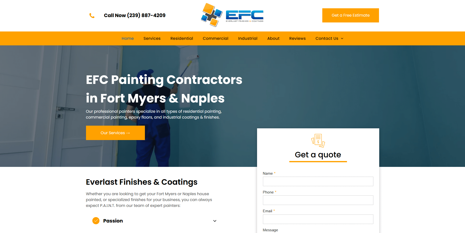 Everlast Finishes & Coatings Painting Contractors in Fort Myers